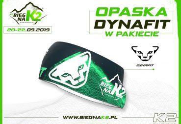 Opaska Dynafit wpakiecie Biegu naK2 iK2 Challenge