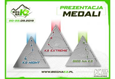 Pierwsza odsłona medali IX Biegu naK2 – K2 Challenge