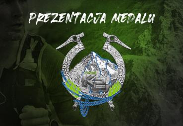 Prezentacja medalu X Biegu naK2