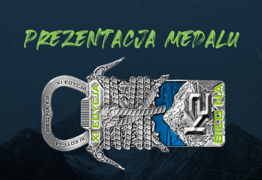 Prezentujemy medal XI Biegu naK2