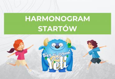 Harmonogram startów Biegu Yeti oraznajważniejsze informacje